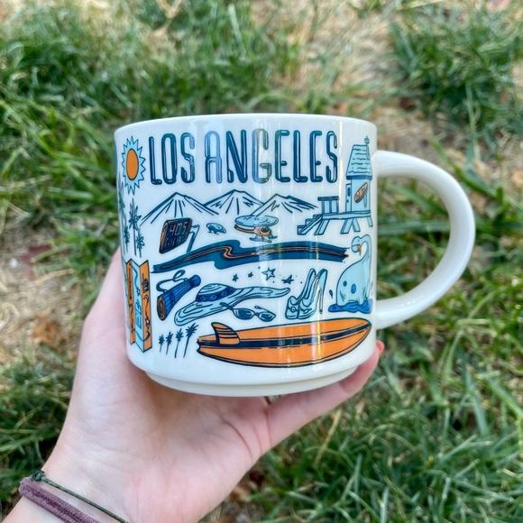NWT STARBUCKS LOS ANGELES BEEN THERE MUG CERAMIC